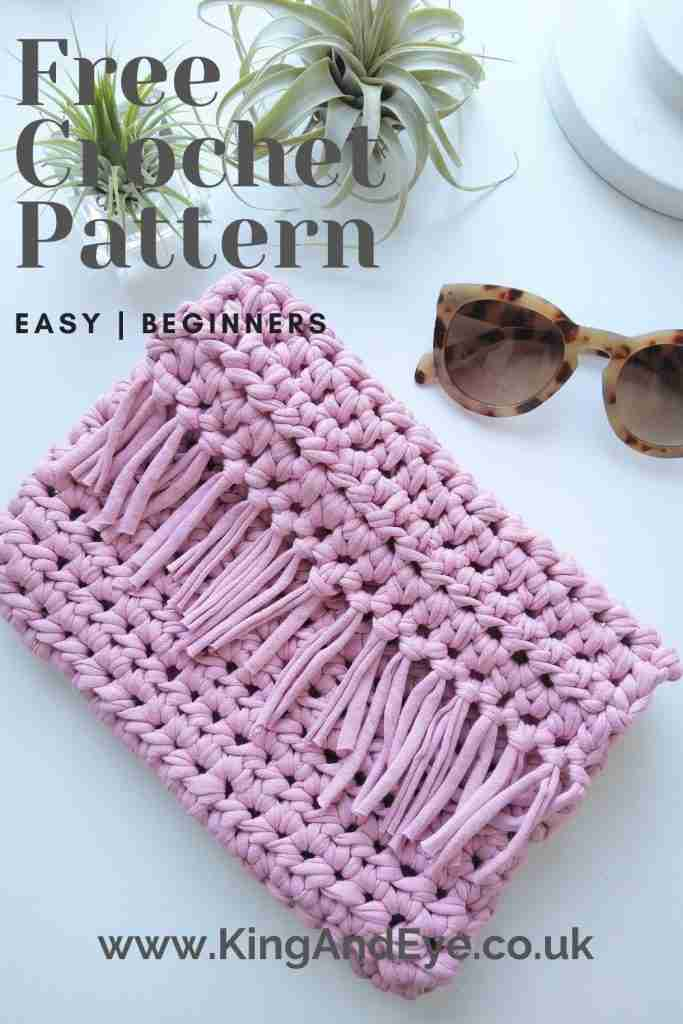 Boho Clutch Free Easy Crochet Pattern