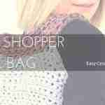 Easy Crochet Shopper Tote Bag