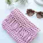Easy T Shirt Yarn Crochet Bag