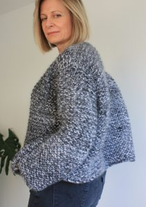 Easy Chunky Knit Cardigan Pattern