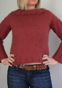 easy chunky knit sweater